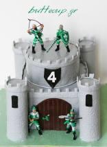 boys castle cake