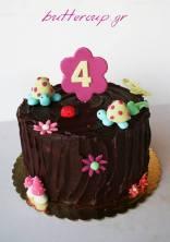 Cute chocolate cake