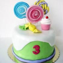 CUTE CANDY CAKE