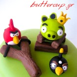 angry birds cake-4wtr