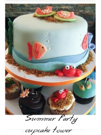 beach theme cake-1web