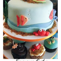 beach theme cake-1web