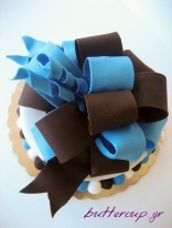 big bow cake-10wtr