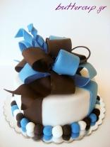 big bow cake-8wtr