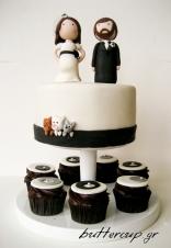 black and white wedding-1wtr
