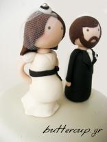 bride and groom topper wtr