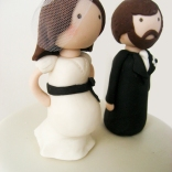 bride and groom topper wtr