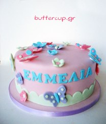 butterfly-and-flower-cake