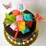 chocolate bow cake-2wtr