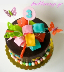 chocolate bow cake-2wtr