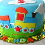 choo choo train cake2