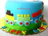 choo choo train cake3