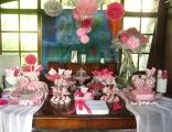 dessert table full view