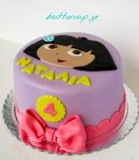 dora the explorer cake-3wtr