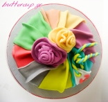 DRAPING CAKE top view