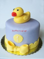 rubber duck cake