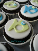 fishes cupcakes