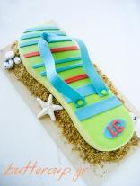 flip flop cake-5wtr