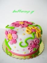 flower serpantine cake-2wtr
