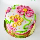 flower serpantine cake-5wtr