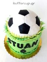 football-cake-top
