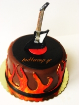 guitar hard rock cake 002wtr