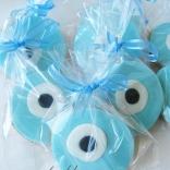 evil eye cookies