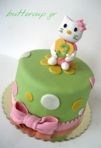 Kitty cake green 002wtr