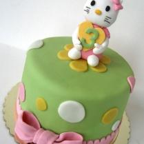 Kitty cake green 002wtr