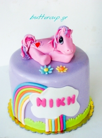 little pony cake-8wtr