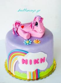 little pony cake-8wtr