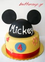 mickey cake-2wtr