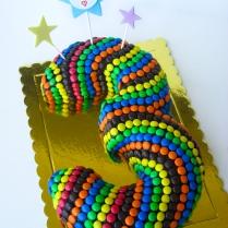 no.3 M&M's cake