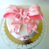 pink bow cake-5wtr