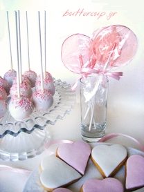 pink christening dessert table web2