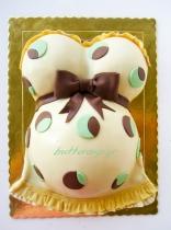 pregnant belly cake-1wtr