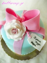 roses and bow cake-3wtr