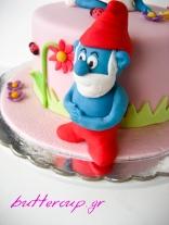 smurf cake-3wtr