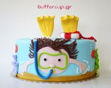 snorkelling-cake