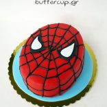 spiderman-face-cake
