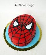 spiderman-face-cake