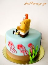 sponge bob and patric cake-4wtr