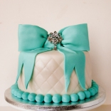 tiffany blue quilted cake-2wtr
