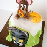 tom and jerry cake-5wtr