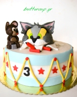 tom and jerry drum cake-7wtr