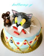 tom and jerry drum cake-8wtr