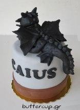 Toothless-dragon-cake-back