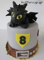 Toothless-dragon-cake-front