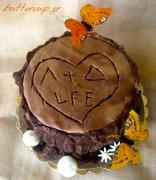 tree stump cake-5wtr