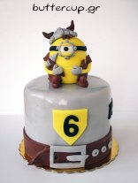 Viking-Minion-cake